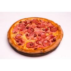 Pizza Quattro Carni Family